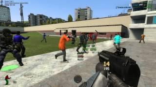 режим Zombi survival в игре Garry's Mod#3