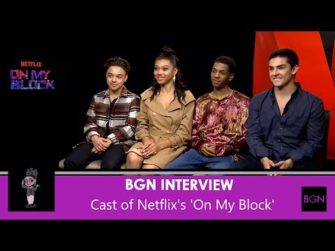 On My Block:  with the Cast