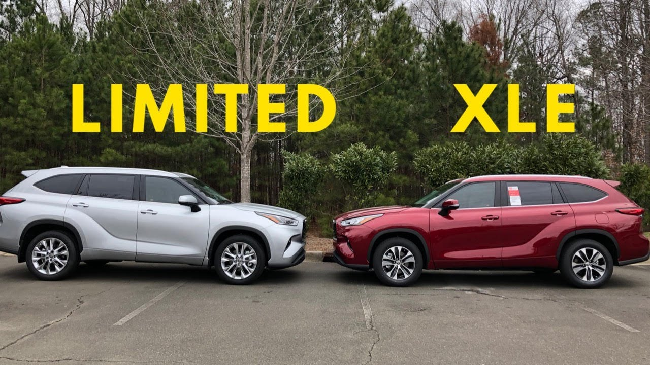 2020 Highlander Xle Vs Limited Who Wins This Battle Youtube