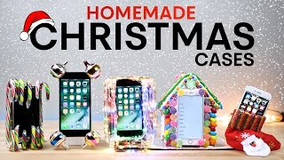 Homemade iPhone 7 Cases Drop Test Part 3! Christmas Edition
