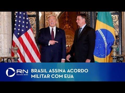 Brasil assina acordo