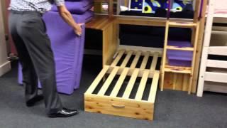 Thuka Trendy 29 Highsleeper Bed - Rainbow Wood