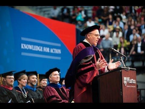 The Wharton School - MBA Graduation 2014