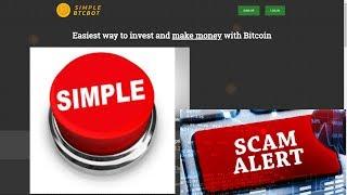 Simple BTC Bot - A Simple Scam
