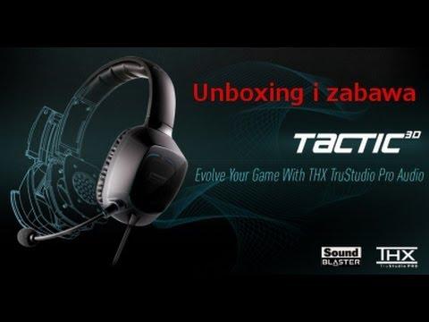 Sound blaster tactic3d sigma gaming headset with thx® trustudio.