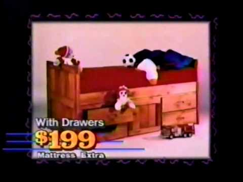 Big Sur Waterbeds ad 1994 Mobile Kidz Bedzzz