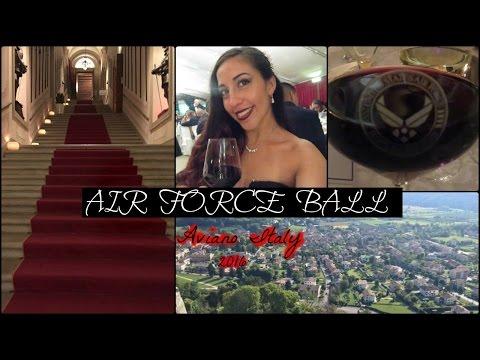 Aviano Air Force Ball 2016- Italy- VLOG