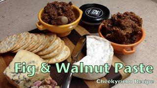Fig & Walnut Paste Cheekyricho Thermochef  Tutorial