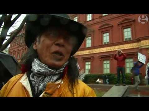 Native Americans take Dakota Access pipeline protest to Washington