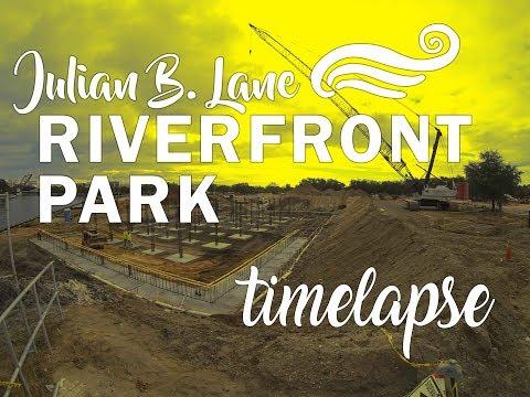Julian B. Lane Riverfront Park: Timelapse