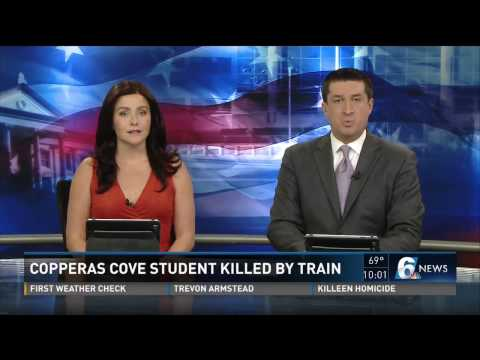 Copperas Cove teen killed after being hit by train