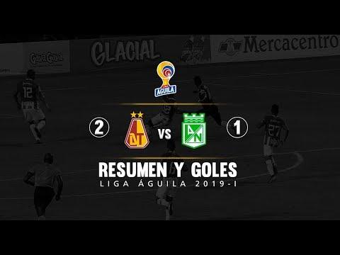 Tolima vs Nacional: resumen y goles del partido 2-1, Liga Águila 2019-I