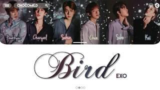 EXO (엑소) - BIRD [Color Coded Lyrics/Kan/Rom/Eng/歌詞]