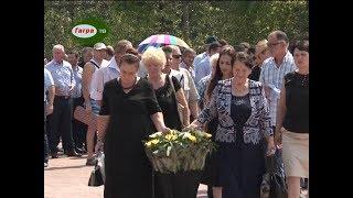 14  августа в день начала Отечественной войны народа Абхазии в Гагре прошла церемония возложения