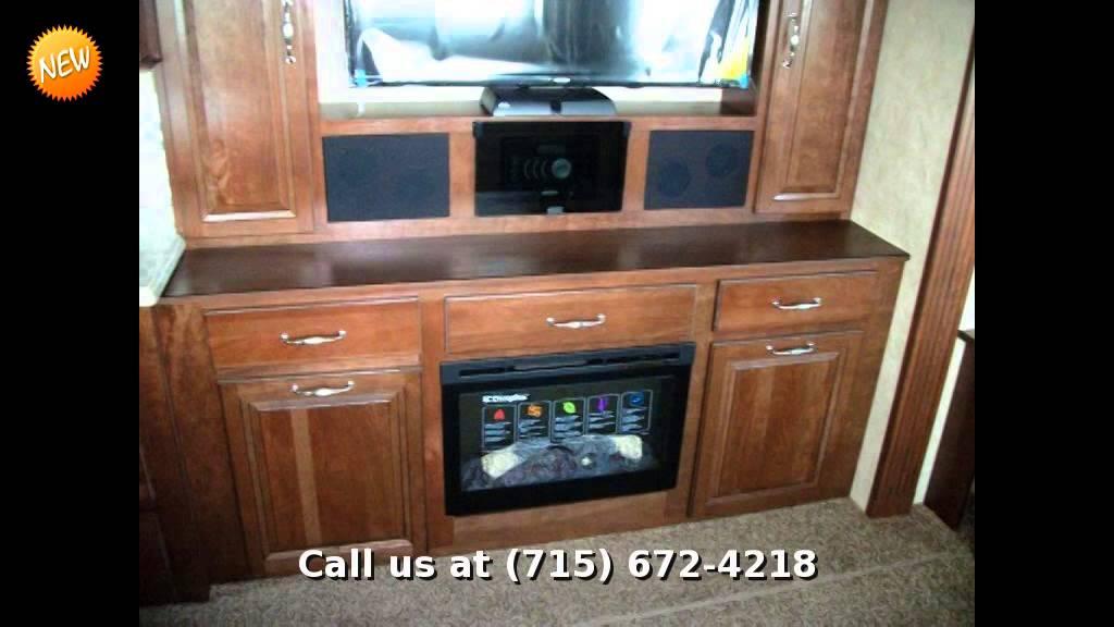 2015 forest river cedar creek 40cck travel trailer front - Front living room travel trailers ...