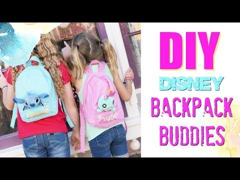 DIY Disney Backpack Buddies