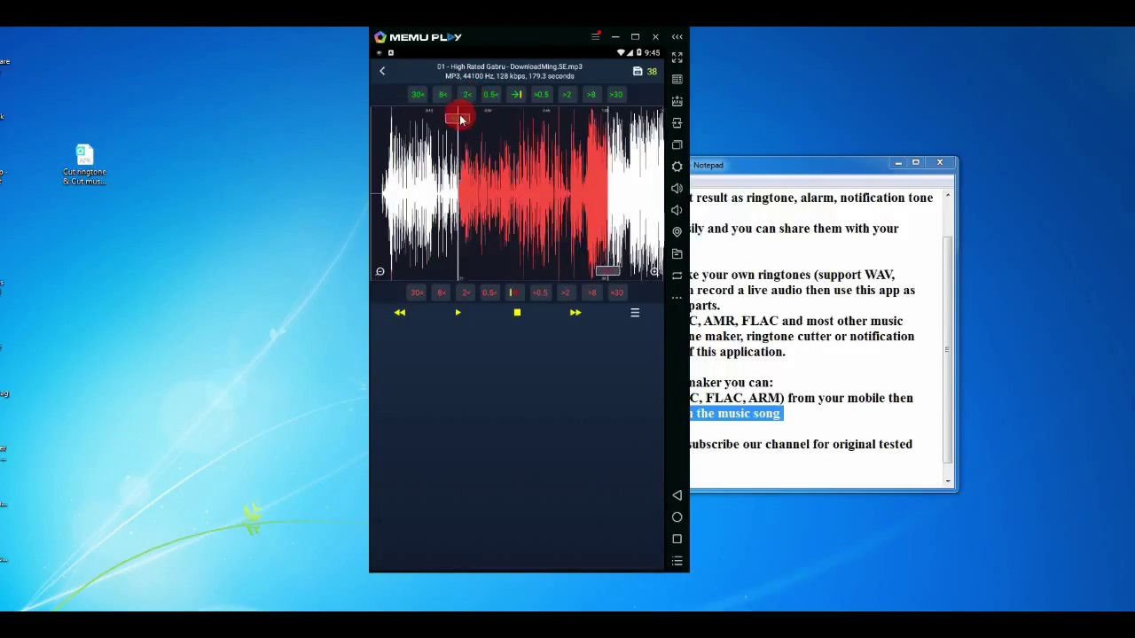 mp3 cutter and ringtone maker apk for pc