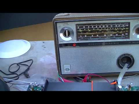 GE P990A World Monitor Radio Amp Repair