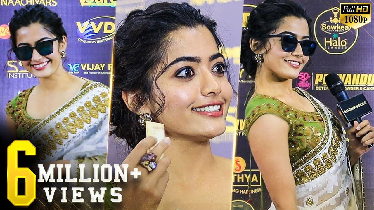 Rashmika Super Cute! Thalaivar Walk! Full Swag! Total Fun! Try not to fall in love!