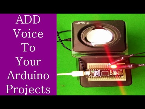 Add Voice Or Speech To You`re Arduino Projects Without Using Any Module (LED Blink With Voice)