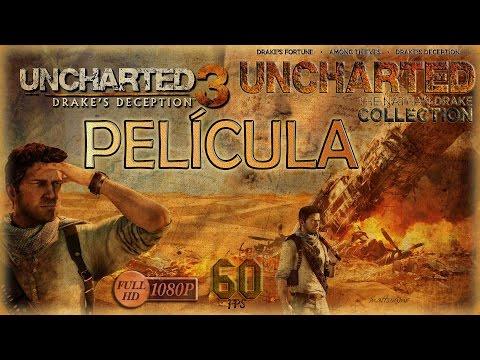 Uncharted 3 La Traición de Drake PELÍCULA (PS4/1080p/60fps/Español)