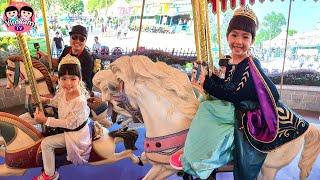 หนูยิ้มหนูแย้ม   ขี่ม้าหมุน   เที่ยวฮ่องกงดิสนีย์แลนด์ EP4