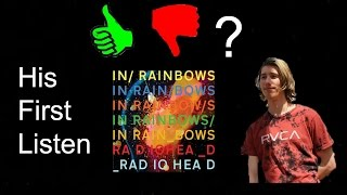 Radiohead - In Rainbows: His First Listen | ScorpionSlayer66
