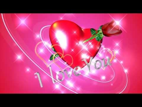 I Love You Background Video Animation Youtube