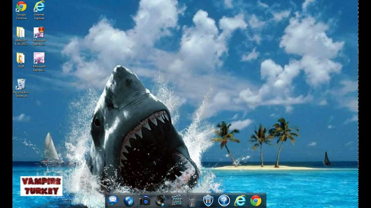 How To Set Your Desktop Background Using Google Chrome