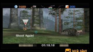 Multi player hunting video game Deer Drive shooting game - Wii
