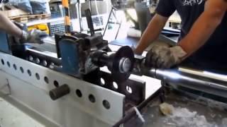 Сборка оси на резино жгутовой подвеске фирмы KNOTT AVTOFLEX