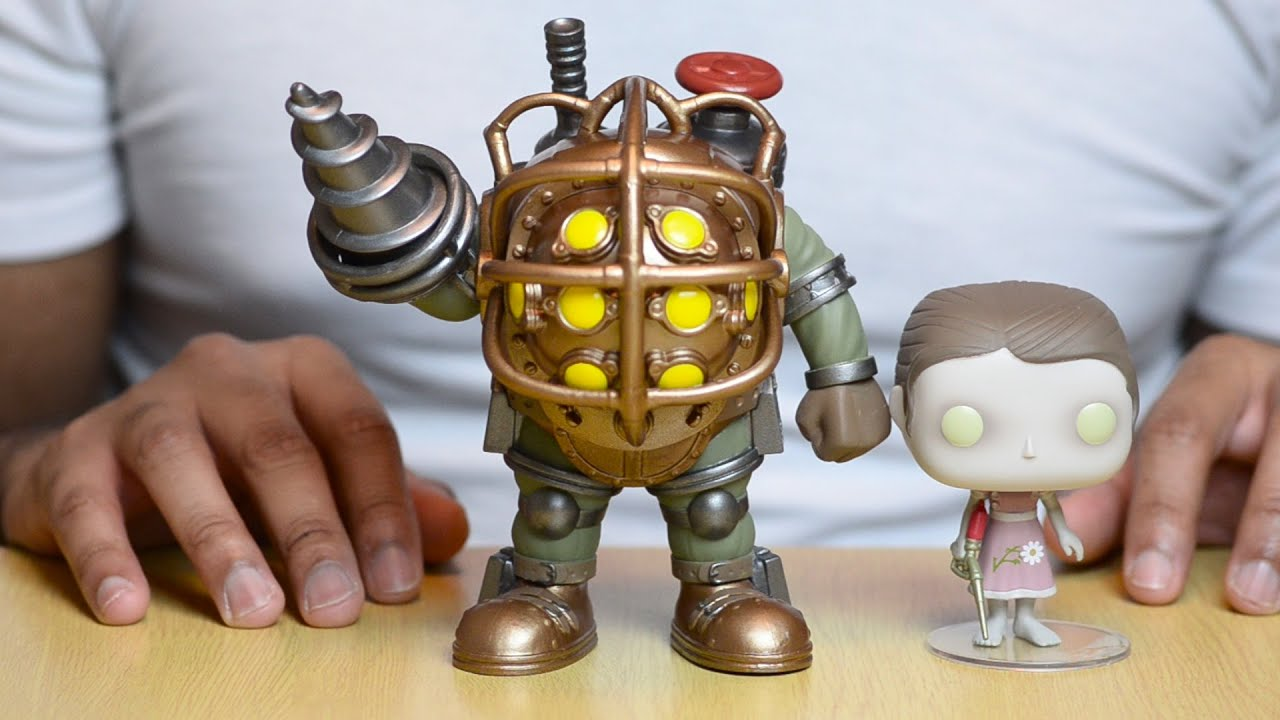 Funkie Big Daddy : funko pop bioshock big daddy and little sister review ~ Michelbontemps.com Haus und Dekorationen