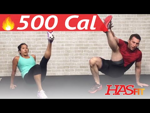 30 Min HIIT Workout for Fat Loss High Intensity Interval Training with Weights at Home Women & Men