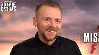 MISSION: IMPOSSIBLE FALLOUT | Simon Pegg talks about his experience making the movie