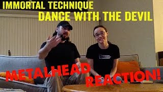 Dance with the Devil - Immortal Technique (REACTION! by metalheads)