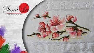 Cerejeira em Tecido por Sonalupinturas