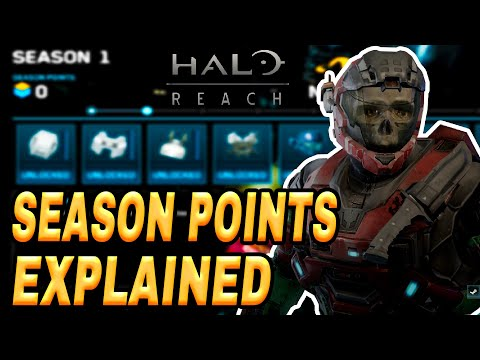 Halo Reach PC How To Get Season Points (Unlock Armor Fast) Tutorial
