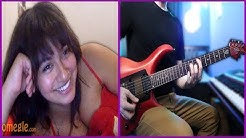 Playing Guitar for GIRLS on Omegle