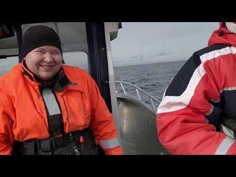Sandland 2018. 28kg codfish / 71kg halibut BIG FISH