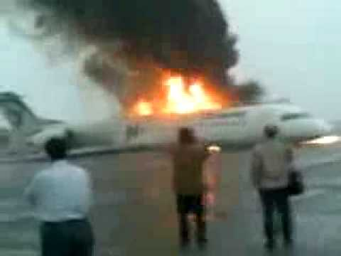 Passenger Plane Crash, Iran Air Fokker 100 Jet, www.aircrashobserver.com