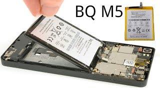Cómo cambiar la batería al BQ M5, M5.5 en 5 minutos