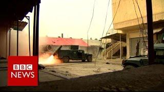 Mosul battle  Hundreds of thousands caught in urban warfare   BBC News