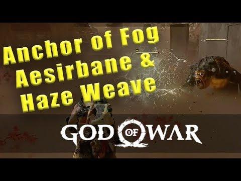 God Of War Anchor of Fog, Aesirbane and Haze Weave location