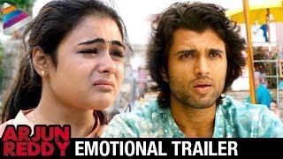 Arjun reddy latest emotional trailer | vijay deverakonda | shalini | #arjunreddy | telugu filmnagar