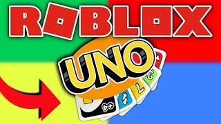 Roblox Uno - Ich WIN!!! - Roblox Kartenspiel