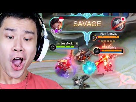 Detik-Detik Top Global Yi Sun-shin Savage - Mobile Legends