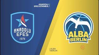 EuroLeague 19. Hafta: Anadolu Efes - Alba Berlin