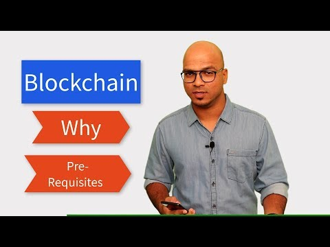 Blockchain   Prerequisites