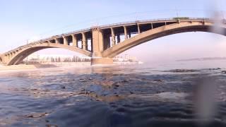 Подводная охота. Енисей. Красноярск 12.01.2013г..
