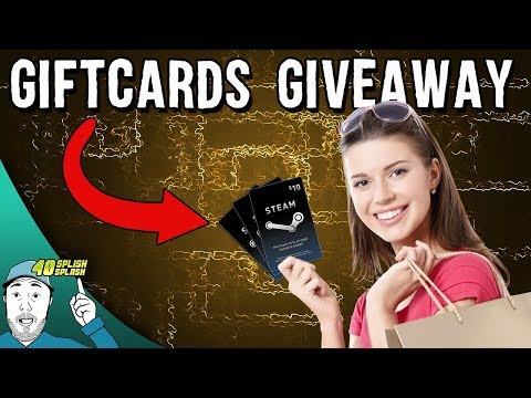 Steam Gift Cards Codes Giveaway